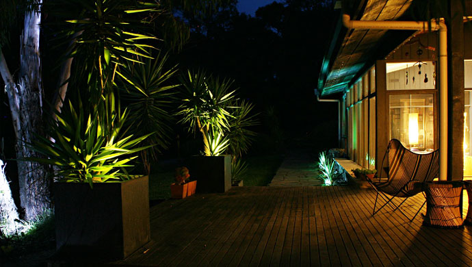 Green Southern Lights Ultra Low energy LED landscape and architectural lighting